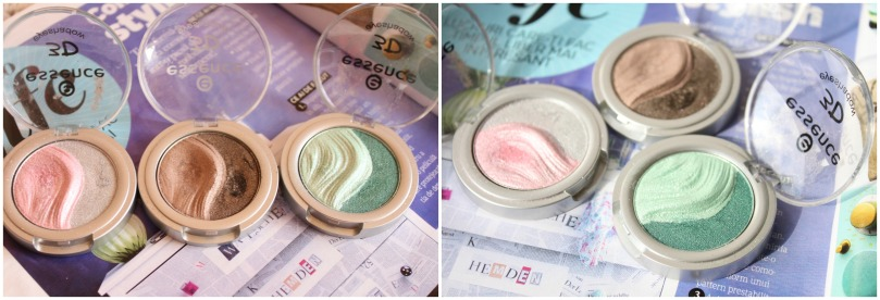 essence 3d eyeshadows