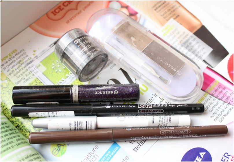essence eyes and brows products