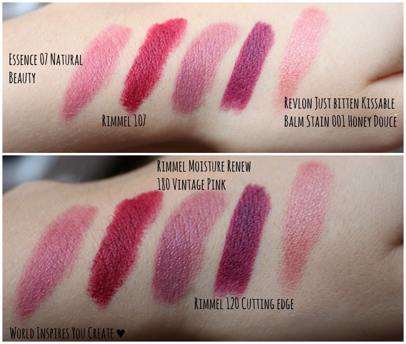 autumn lipstick swatches1