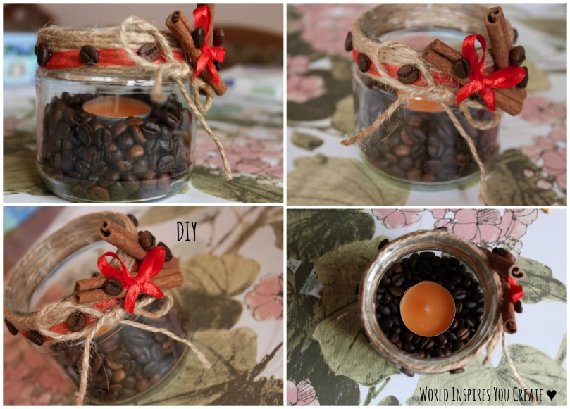 DIY COFFEE CANDLE 1