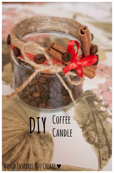 diy coffee candle blog