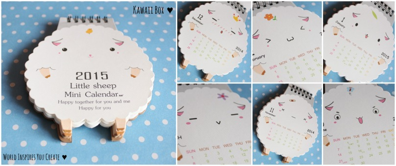 kawaii box calender