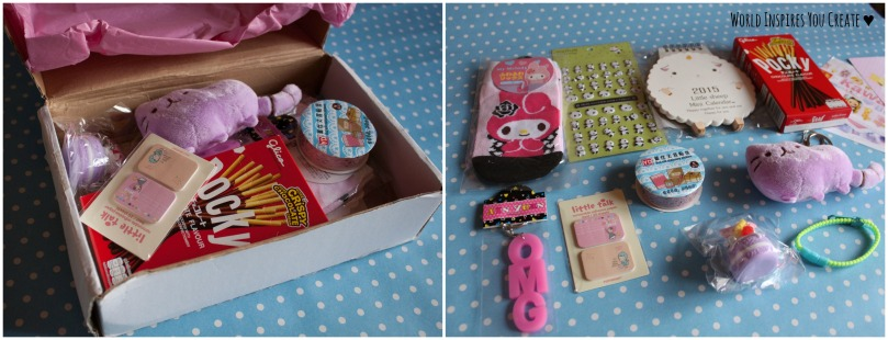 kawaii box inside