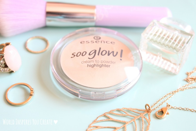 essence soo glow highlighter blog