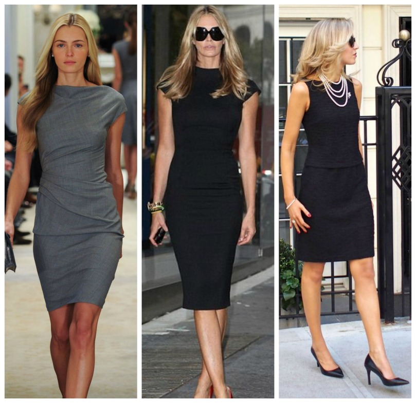 examples sheath dress