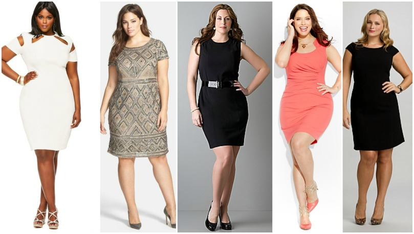sheath dress plus size