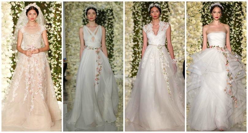dresses bridal reem acra