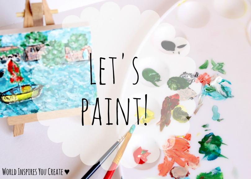 let's paint blog