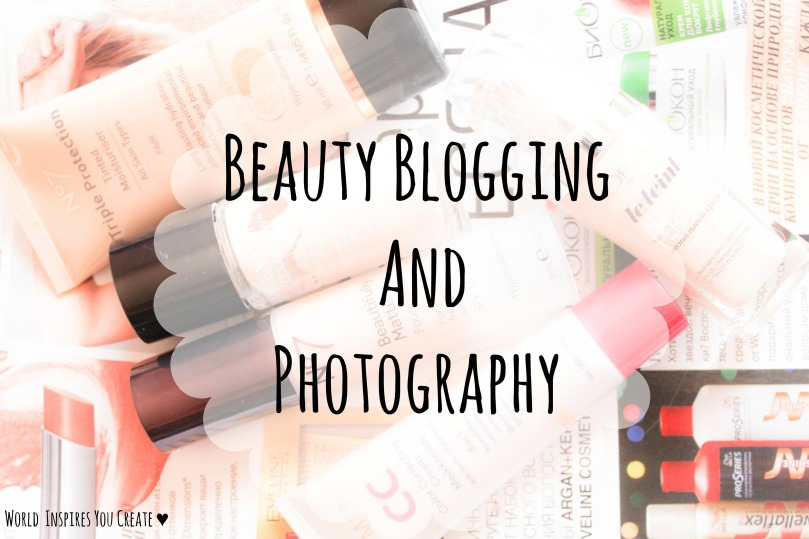 beautyblogging and photography
