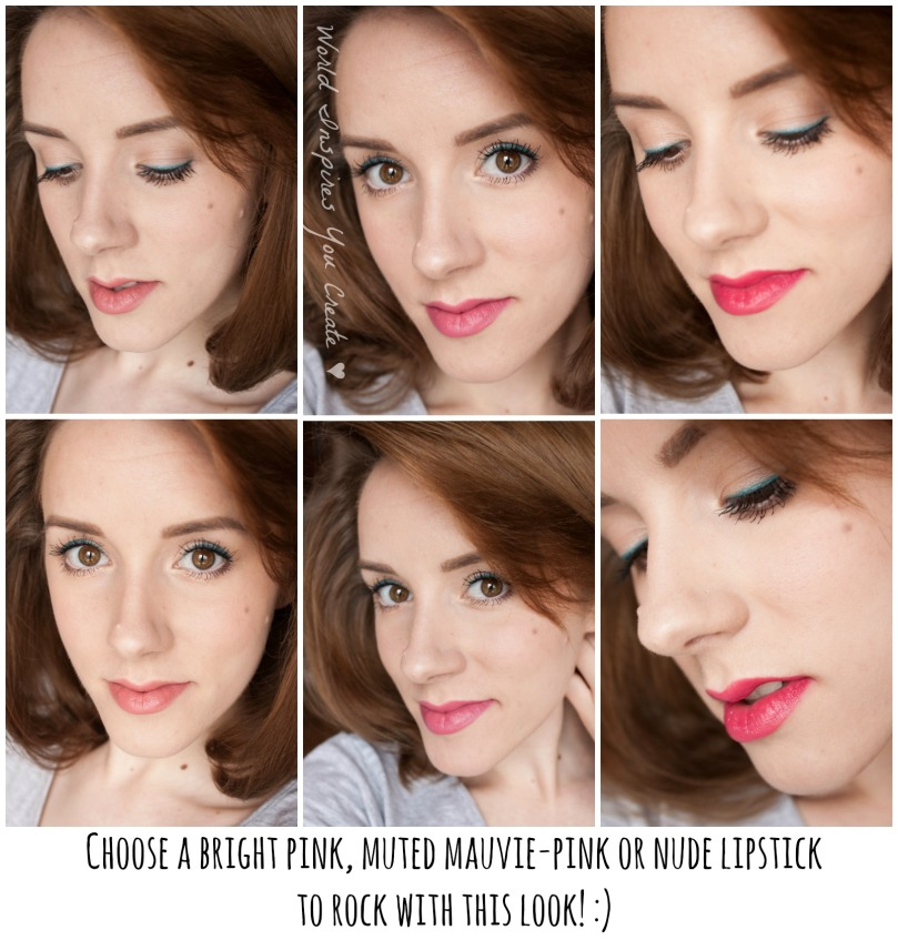 tutorial summer makeup 2015 6