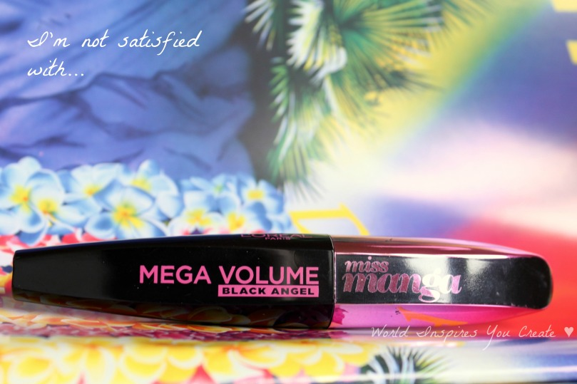 loreal miss manga mega volume black angel review