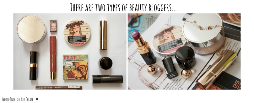 two types of beautybloggers