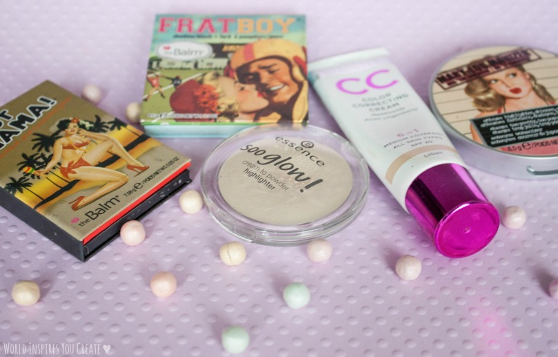 blog face products favorites