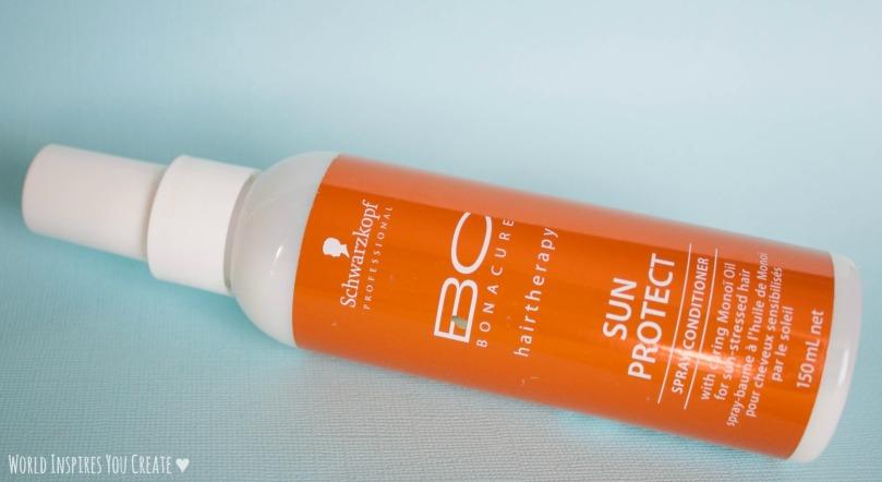 leave in spray haircare blog sun