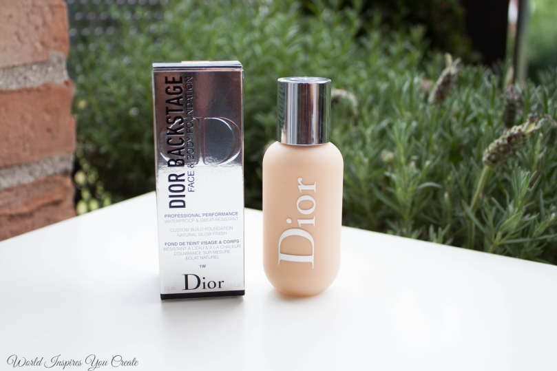 46322d01 Dior Backstage Face and Body Foundation 1W review. Shade comparison ...