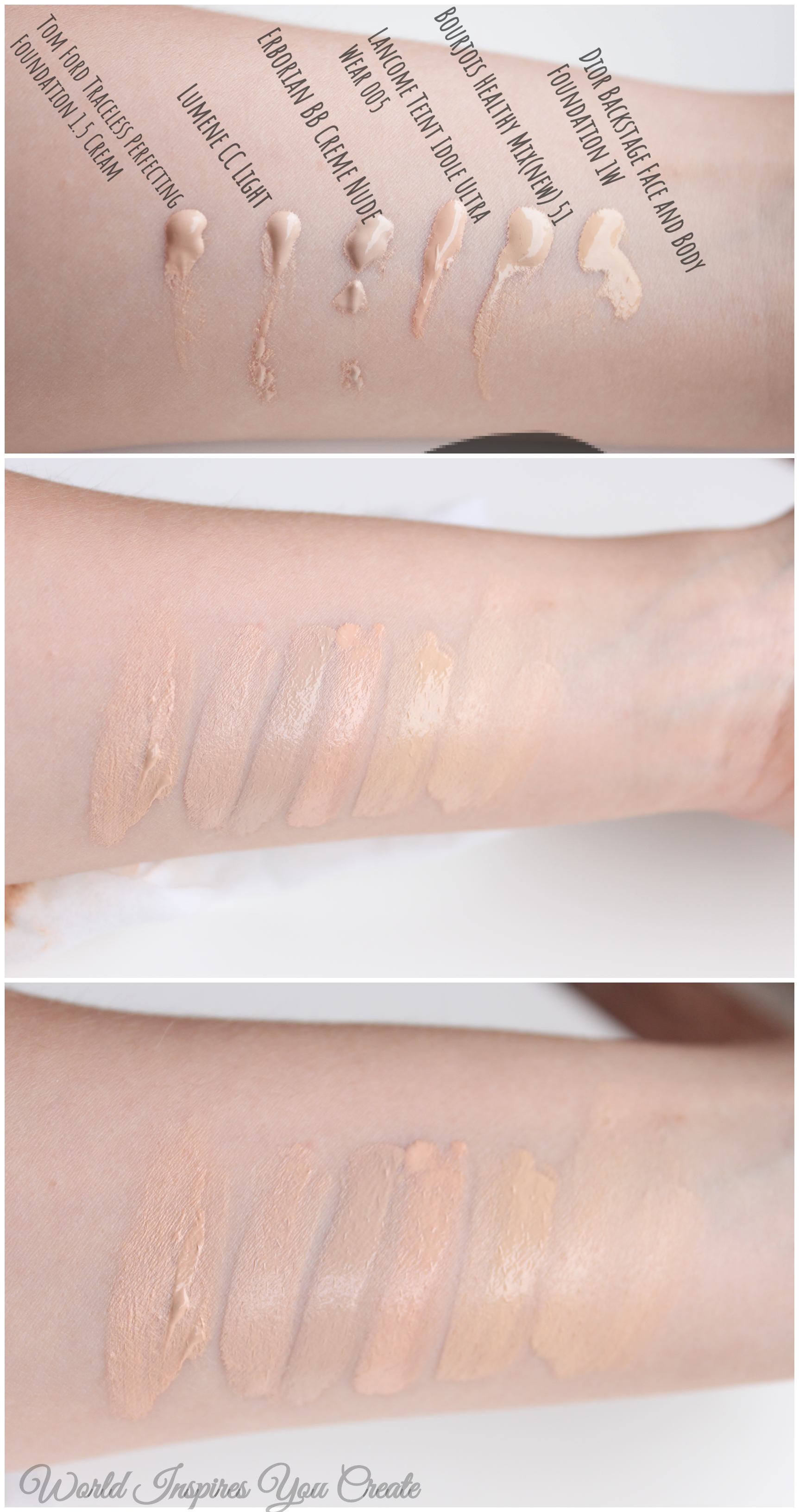 Dior Backstage Face And Body Foundation 1w Review Shade Comparison World Inspires You Create