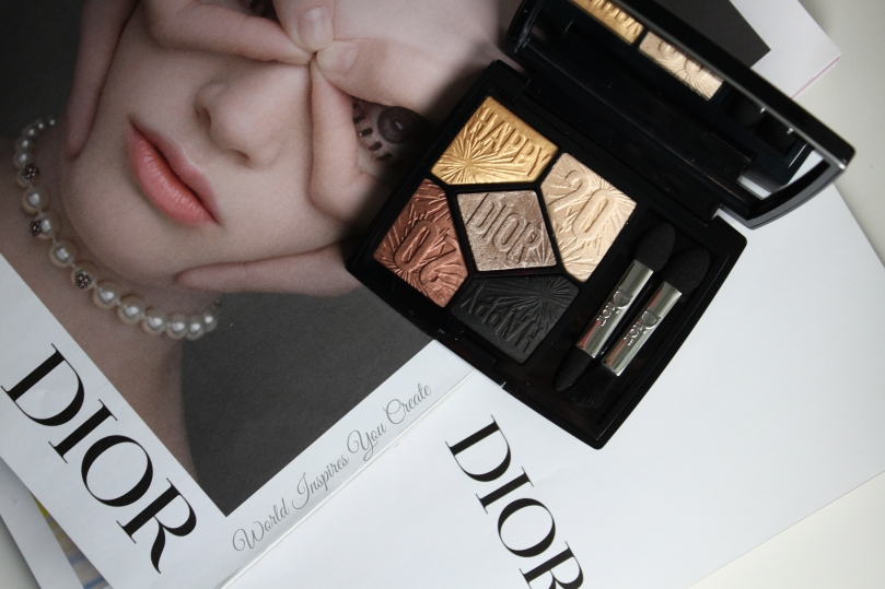 dior celebrate in gold review
